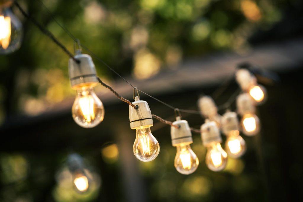 filo lampadine