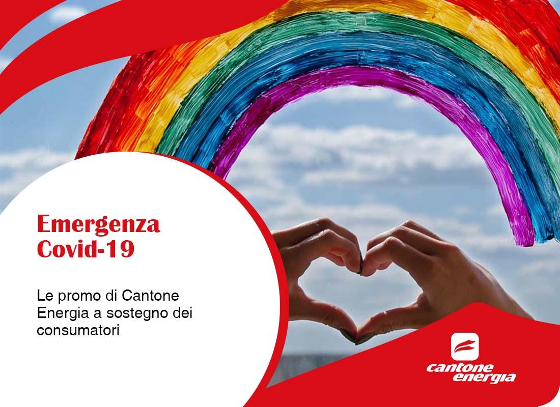 Emergenza Covid-19: le promo di Cantone Energia a sostegno dei consumatori
