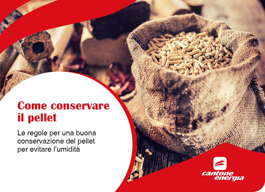 Come conservare il pellet per evitare l'umidità