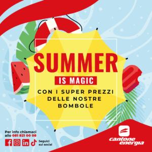 Summer is Magic con i super prezzi delle nostre Bombole!