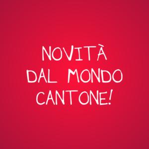 Grande novità in casa Cantone!
