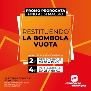 Da Cantone Energia abbiamo deciso di prorogare la nostra Promo, fino al 31 Maggio!